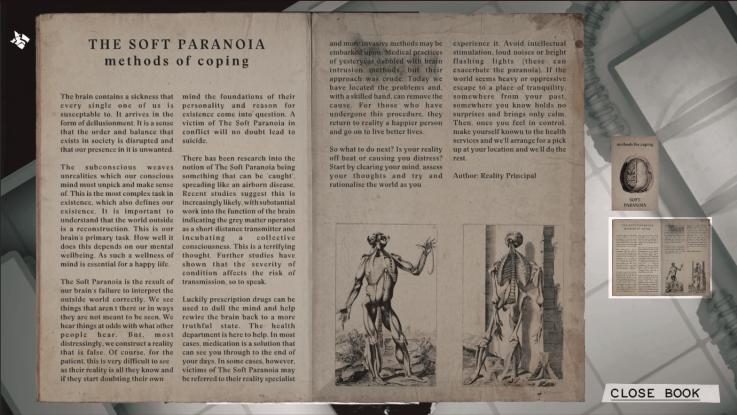 Soft Paranoia Leaflet